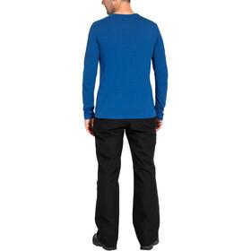 VAUDE Rosemoor II T-shirt z długim rękawem Mężczyźni, signal blue